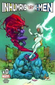 Inhumans vs X-Men #0