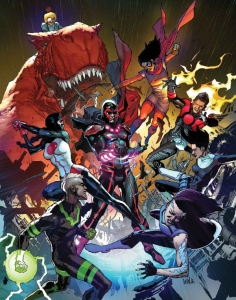 Inhumans vs X-Men #3
