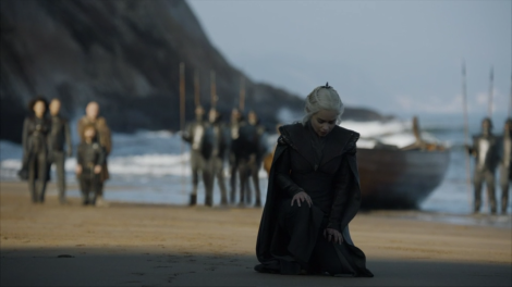 Daenerys arrives in Dragonstone